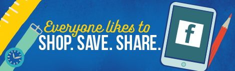 Everyone likes to Shop. Save. Share.